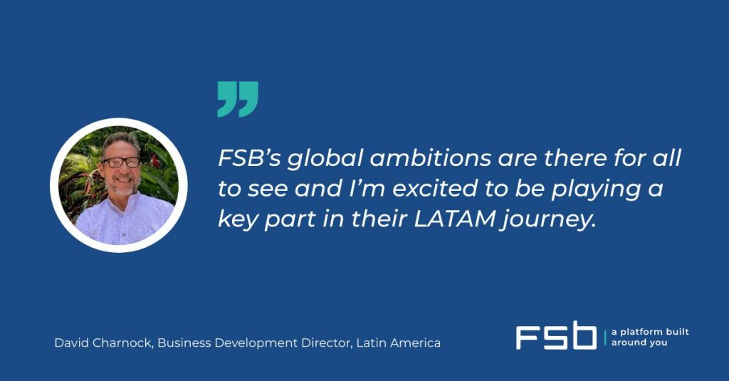 FSB hires David Charnock to head Latin America business expansion