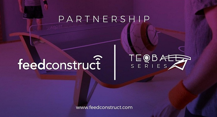 FeedConstruct fecha acordo de exclusividade com Teqball Series