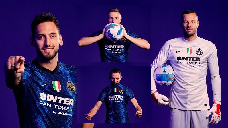Inter de Milão, da Itália, anuncia patrocínio da plataforma Socios.com