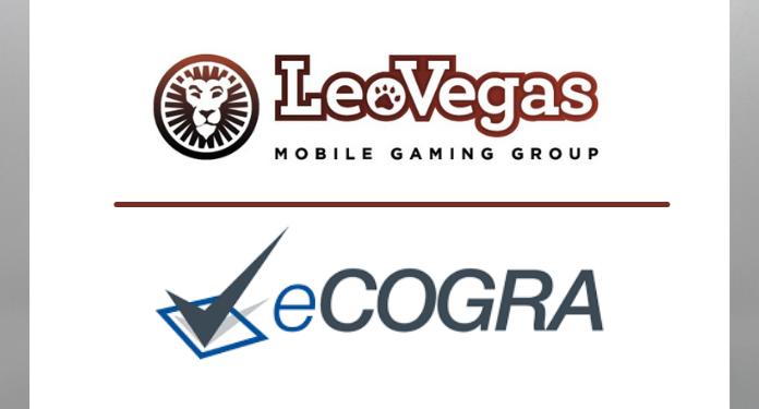 LeoVegas-e-aprovada-em-avaliacao-de-cassino-e-apostas-online-do-eCOGRA