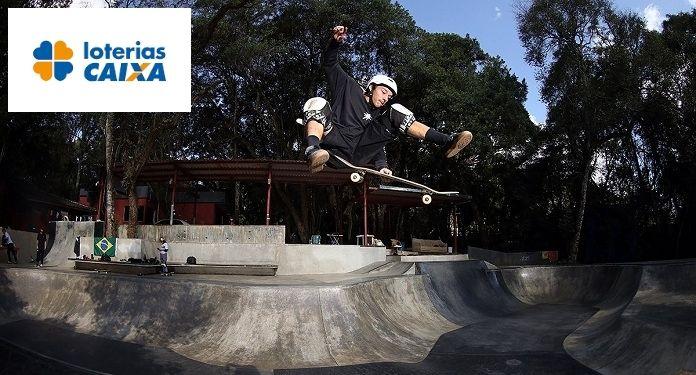 Loterias CAIXA e CBSk fecham o maior patrocínio da história do skate no Brasil
