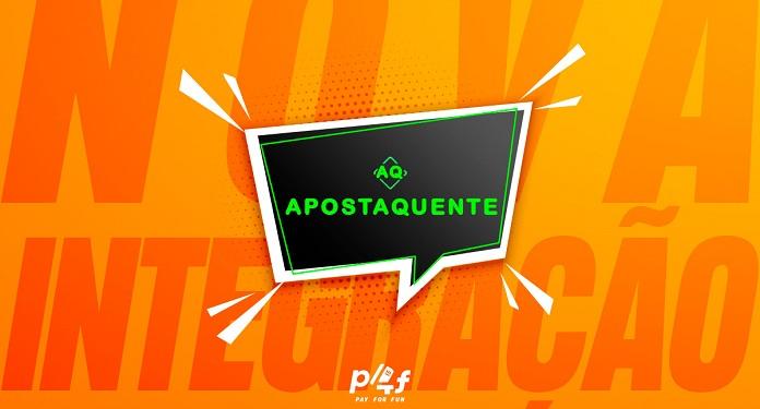 Pay4Fun confirma parceria com plataforma Apostaquente