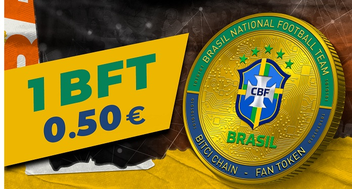 First sale of tokens by the Brazilian team earns R$91 million to CBF