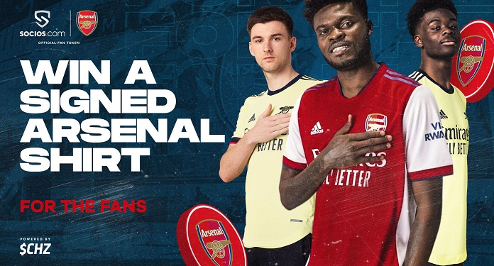 Socios.com closes deal to release Arsenal's Fan Token