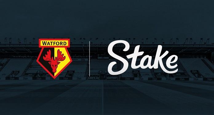 Stake é o novo patrocinador principal do Watford FC, da Inglaterra