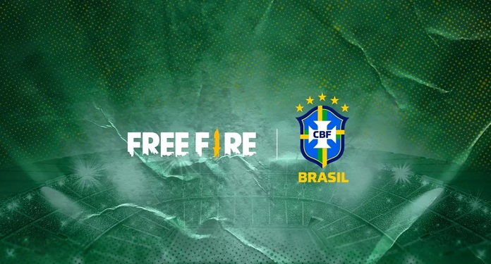 Com contrato de dois anos, Free Fire é o novo patrocinador das seleções brasileiras de futebol