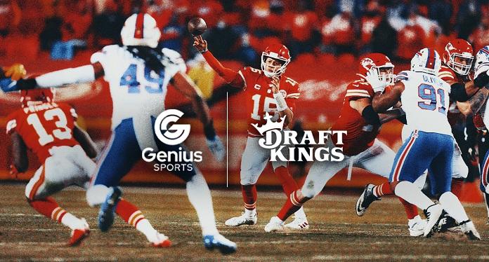 DraftKings se une ao provedor de dados da NFL para aumentar apostas esportivas