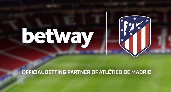 Betway torna-se parceira oficial de apostas do Atlético de Madrid