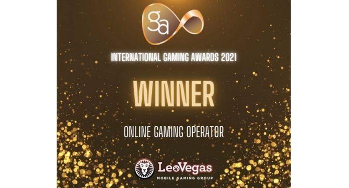 LeoVegas é eleita a melhor operadora de jogos online do ano no IGA 2021