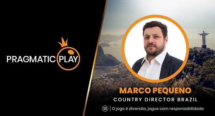 Marco Pequeno é o novo diretor da Pragmatic Play no Brasil