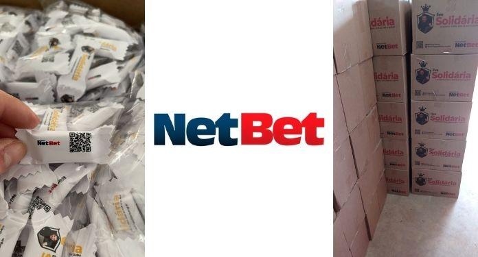 NetBet é principal parceria da 'Live Solidária' para doações de cestas básicas