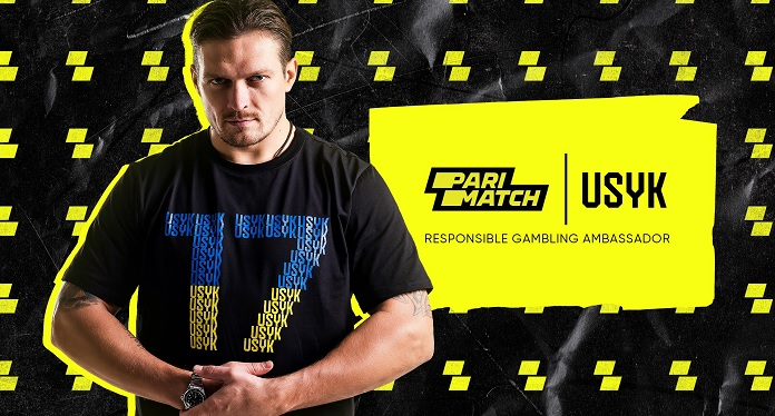 Oleksandr Usyk Joins Parimatch to Promote Responsible Gaming