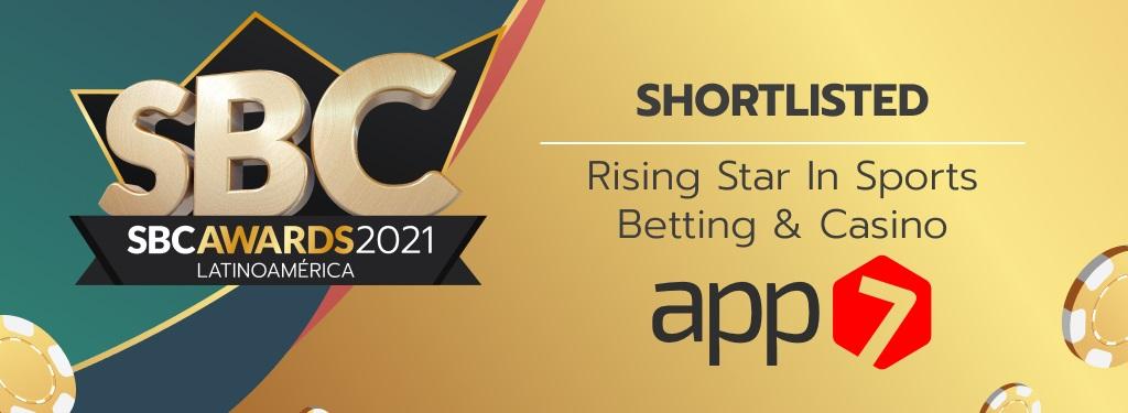Pela primeira vez, a App7 é finalista do SBC Awards