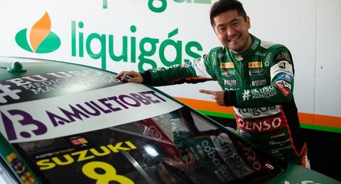 Pioneira, AmuletoBet desembarca na Stock Car com Rafael Suzuki