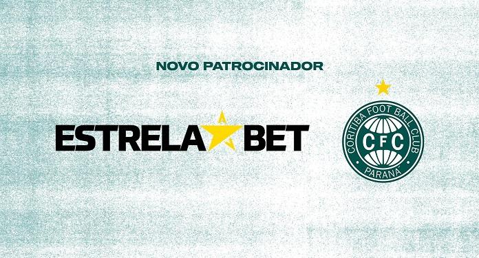 Site de apostas EstrelaBET patrocinará o Coritiba até final da temporada