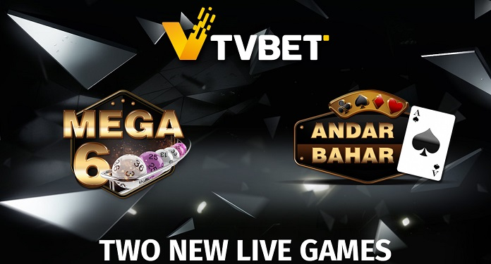 TVBET launches two new live games, Andar Bahar and Mega6