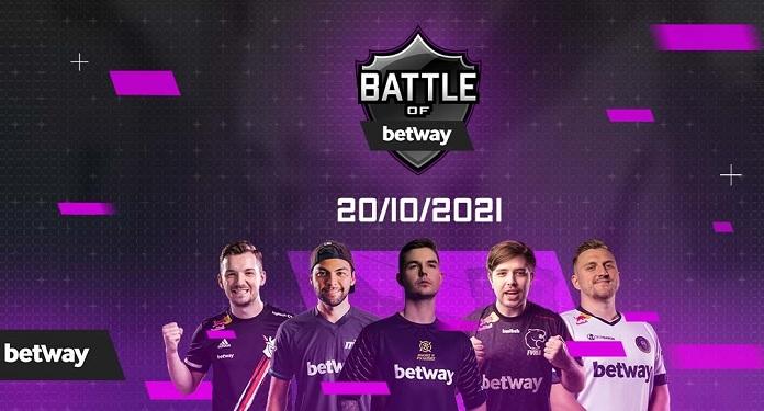 Battle of Betway será o maior torneio global de CSGO da Betway