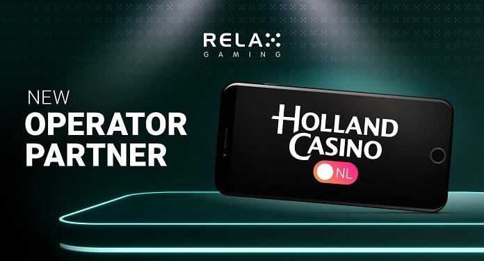 Relax Gaming entra no mercado holandês em parceria com Holland Casino