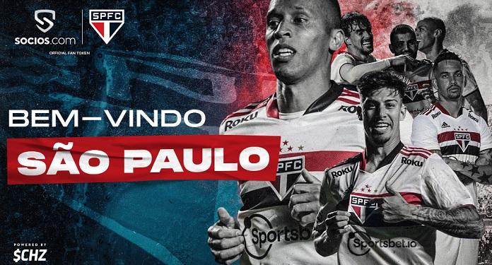 São Paulo aposta em lançamento de Fan Tokens ao fechar com Socios.com